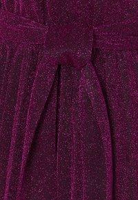 King Louie - BETTY PLISSE DRESS GLITTER PLISOLEY - Jersey dress - vivid purple - 5