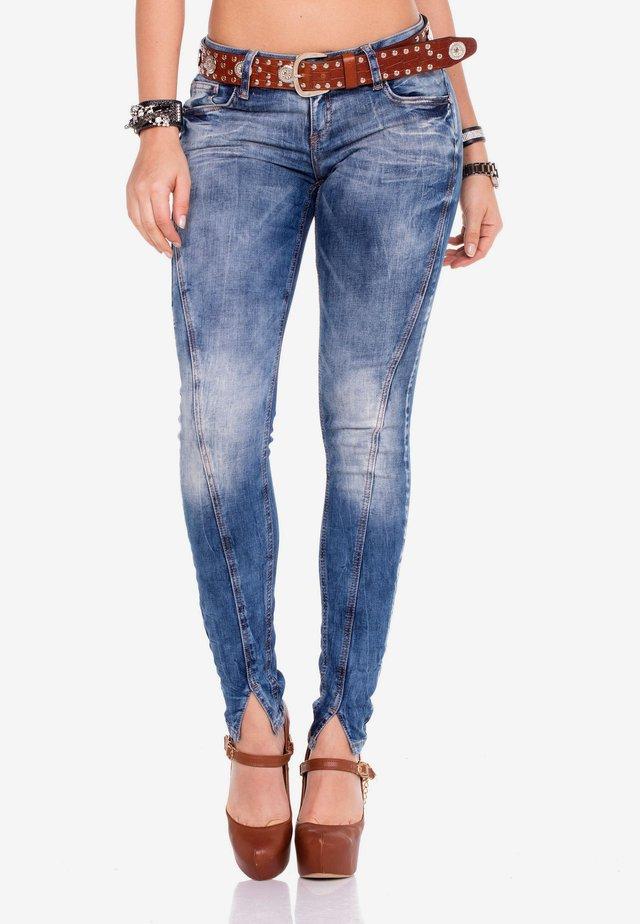 Jeans Skinny Fit - blue jeans taba