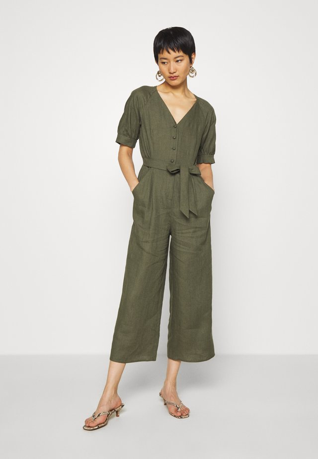 NORA - Overall / Jumpsuit /Buksedragter - khaki