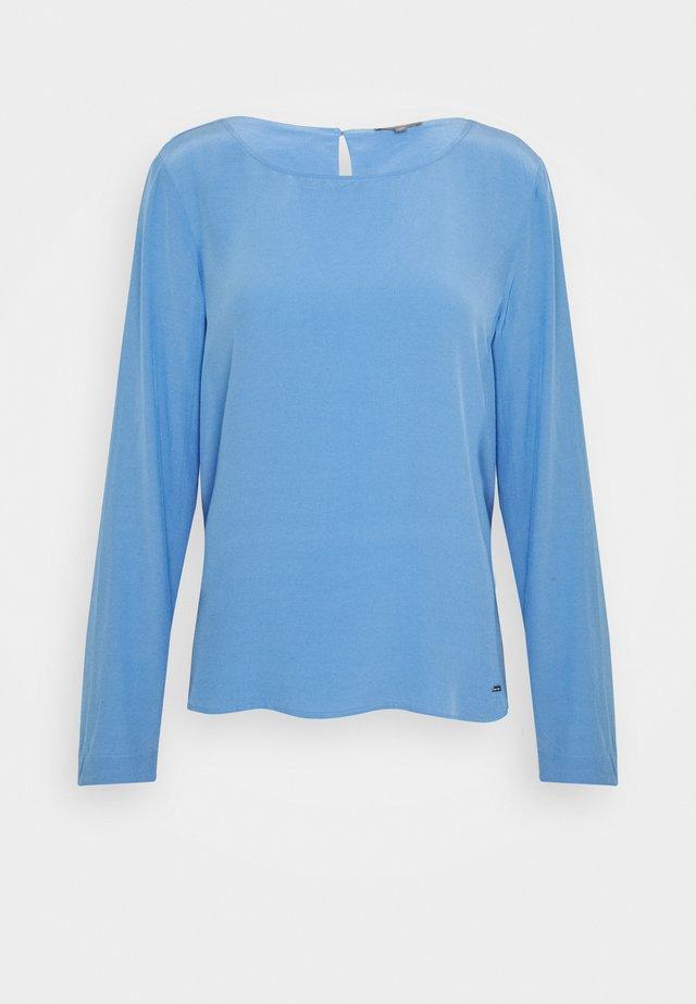 BLOUSE BASIC SOLID - Pusero - bonnet blue