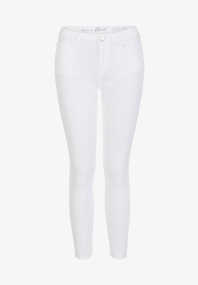 ELISE  - Slim fit jeans - white