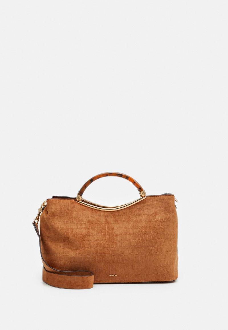 PARFOIS - BAG HORTENSIA - Across body bag - camel