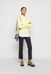 Tory Burch - Straight leg jeans - resin rinse - 1