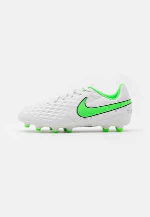 TIEMPO JR LEGEND 8 CLUB FG/MG UNISEX - Moulded stud football boots - platinum tint/rage green