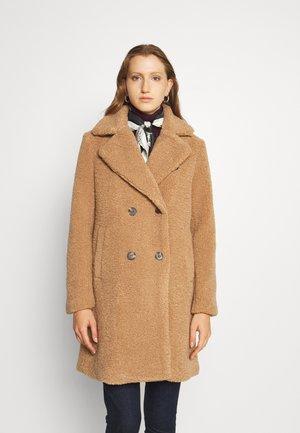LINED COAT - Classic coat - light tan