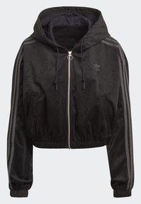 adidas Originals - SPORTS INSPIRED HOODED TRACK TOP - Mikina na zip - black - 2