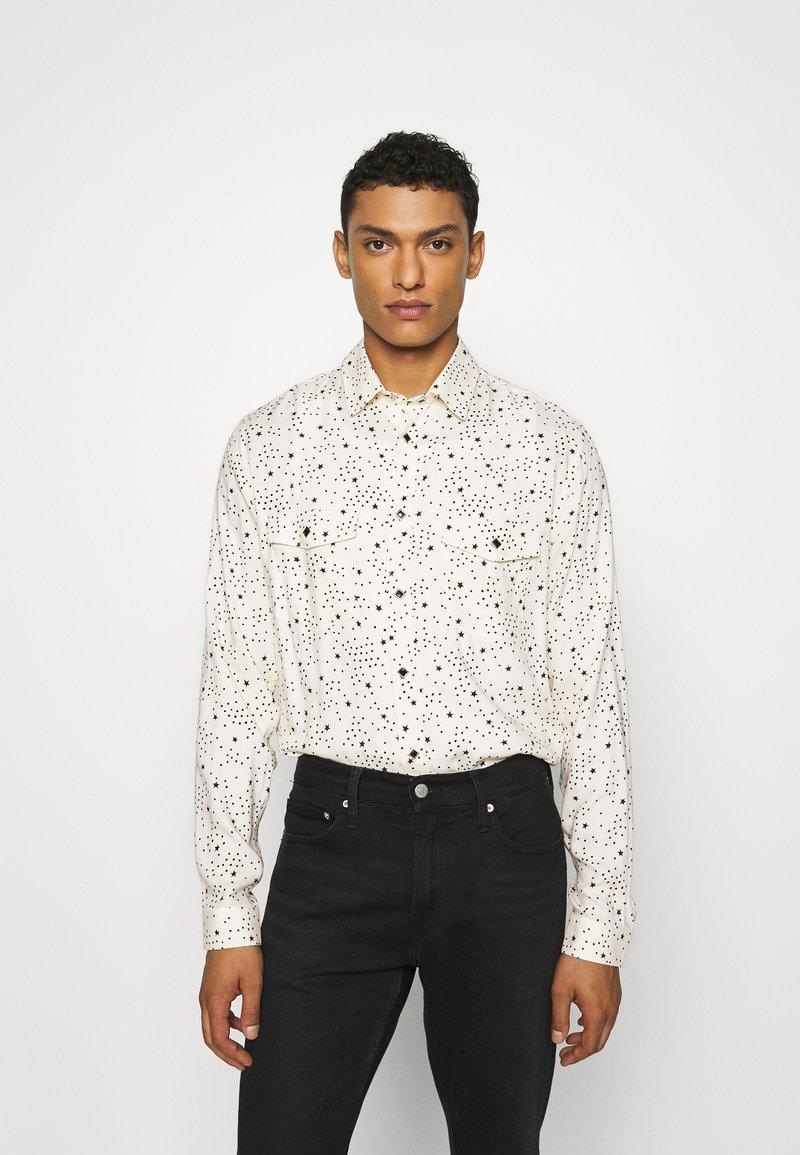 The Kooples - CHEMISE - Shirt - ecru black