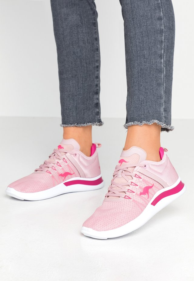 KG-NIMBLE - Trainers - dusty lilac/fuchsia