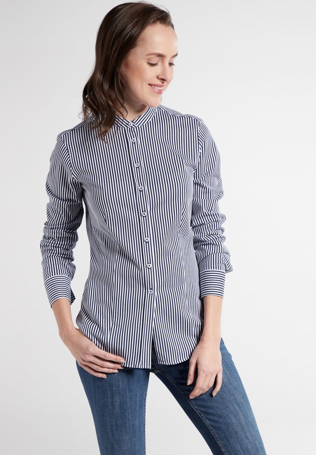 LONG SLEEVE - Button-down blouse - marine