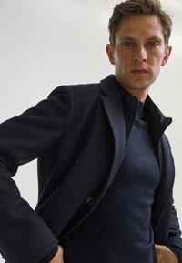 Massimo Dutti - Classic coat - blue - 6