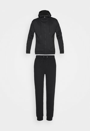 LANISTER - Tracksuit bottoms - jet black