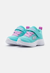 Skechers - DREAMY DANCER - Trainers - aqua/purple - 1