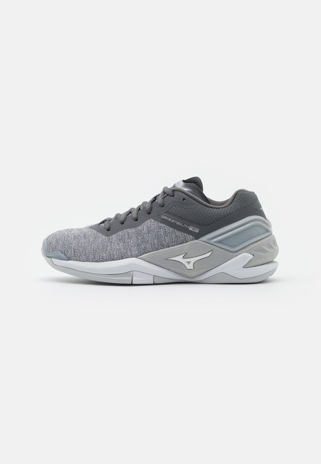 WAVE NEO - Handball shoes - mist/white/quiet shade