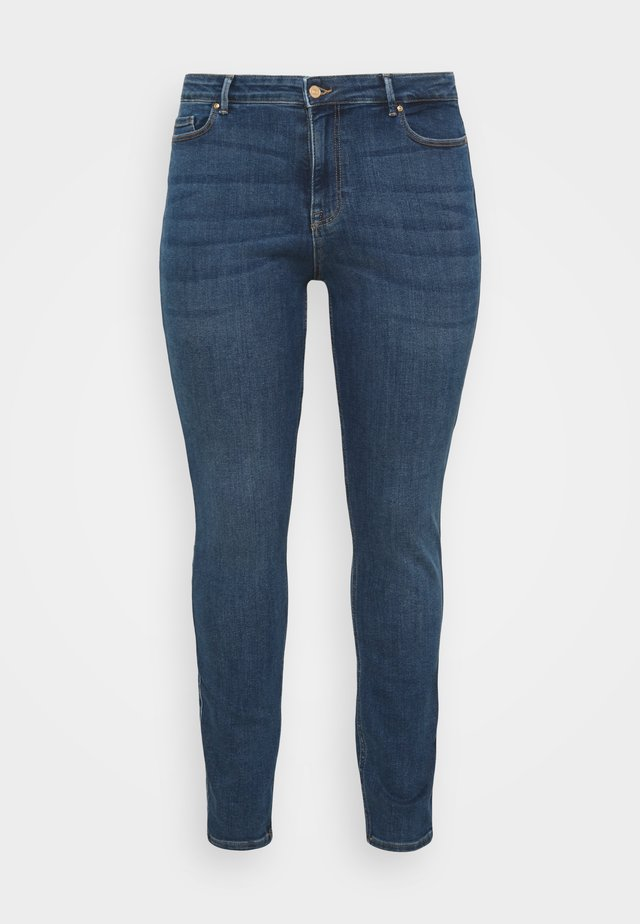 PCLILI - Slim fit jeans - medium blue denim