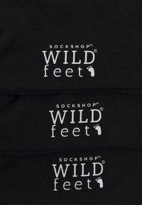 Wild Feet - EXOTIC BIRDS 3 PACK - Sokken - black - 1