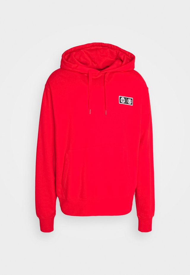 MANDO HOODIE - Sweat à capuche - fire red