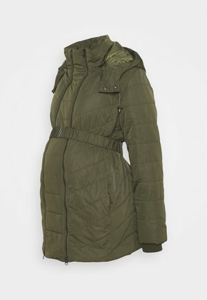 2 IN 1 PUFFER - Winter coat - khaki