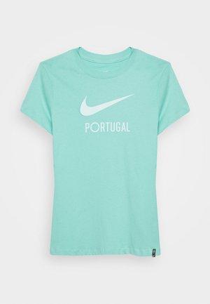 PORTUGAL TEE GROUND - Printtipaita - mint