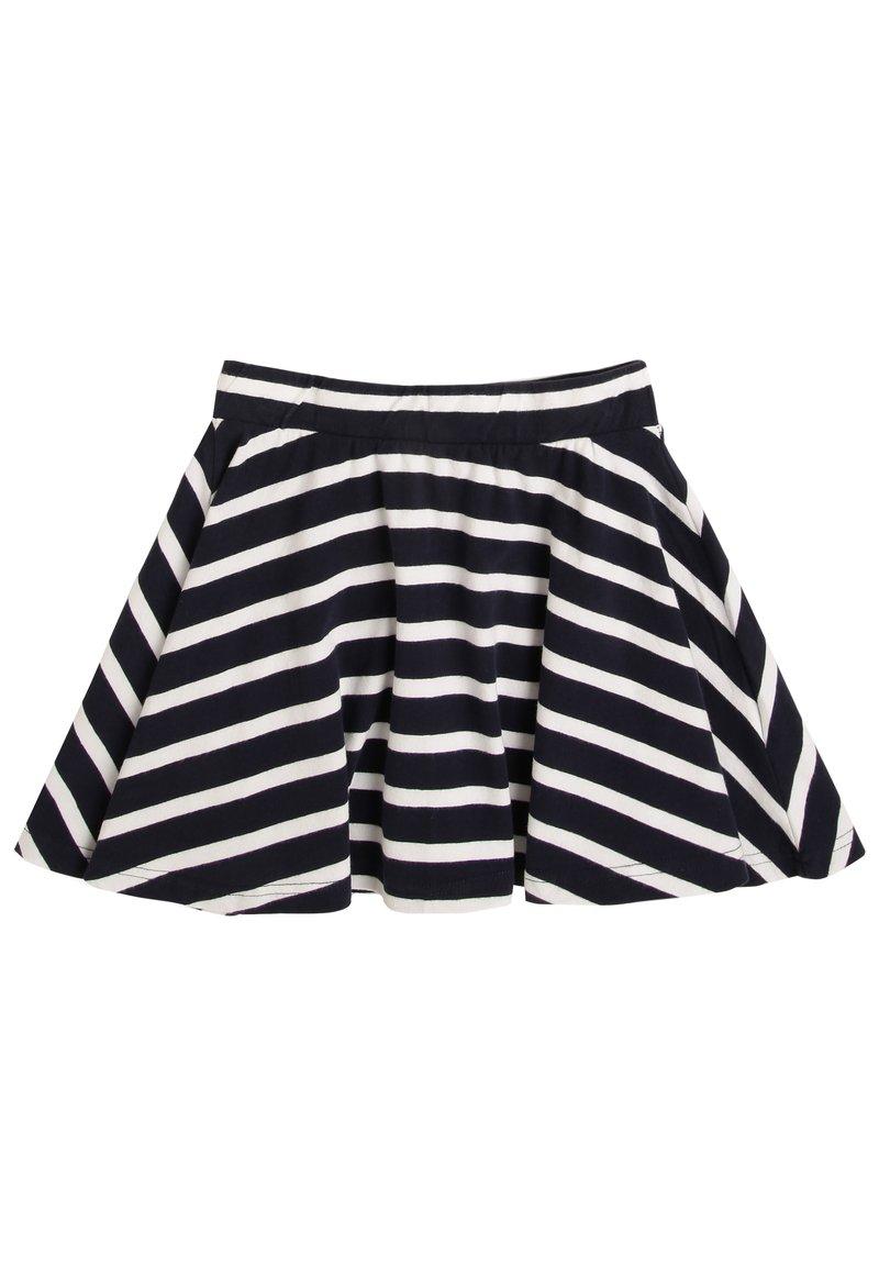 Jonas Nielsen - A-line skirt - marine weiß