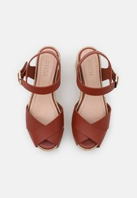 Claudie Pierlot - AMELIE - Sandály na platformě - cerise - 4