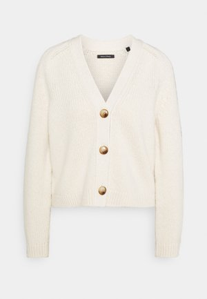 CARDIGAN LONGSLEEVE - Cardigan - off white