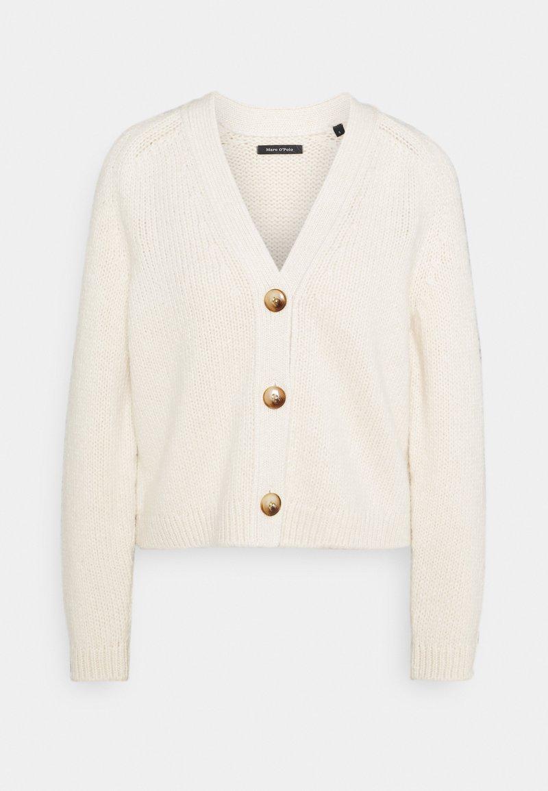 Marc O'Polo - CARDIGAN LONGSLEEVE - Cardigan - off white