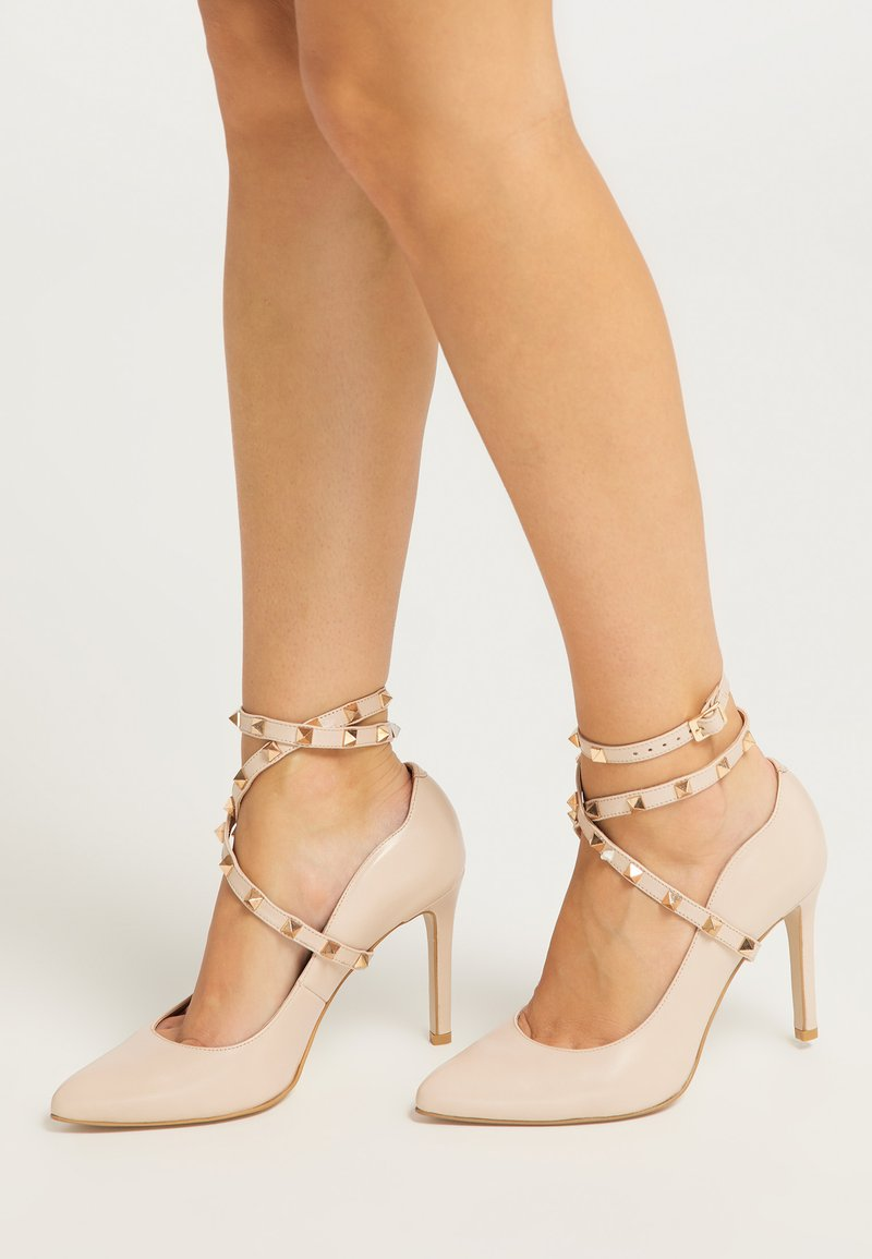 faina - High heels - hellbeige