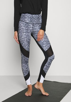 LEGGING SNAKE - Leggings - black