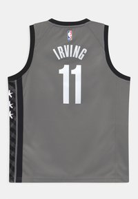 Nike Performance - NBA BROOKLYN NETS KYRIE IRVING BOYS STATEMENT SWINGMAN - Klubové oblečení - dark grey heather - 1