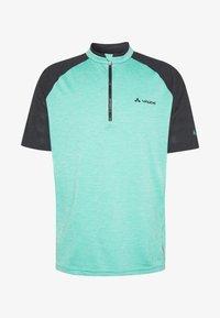 Vaude - TAMARO - T-shirt z nadrukiem - lake - 6