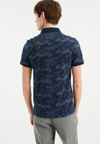 WE Fashion - WE FASHION HEREN POLO MET DESSIN - Poloshirt - blue - 2
