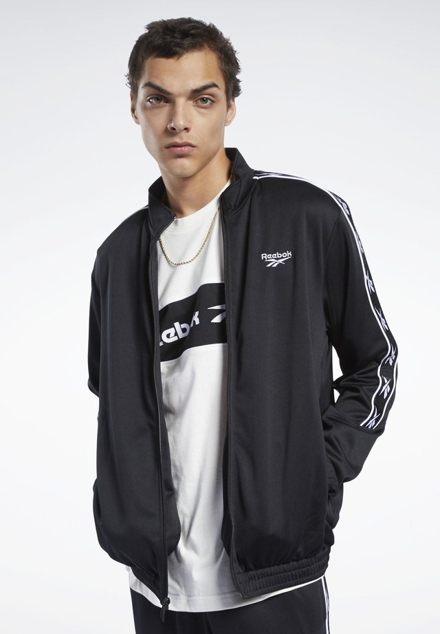 CLASSICS VECTOR TAPE TRACK JACKET - Trainingsjacke - black