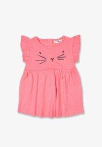Cigit - CAT  - Jersey dress - neon pink - 0