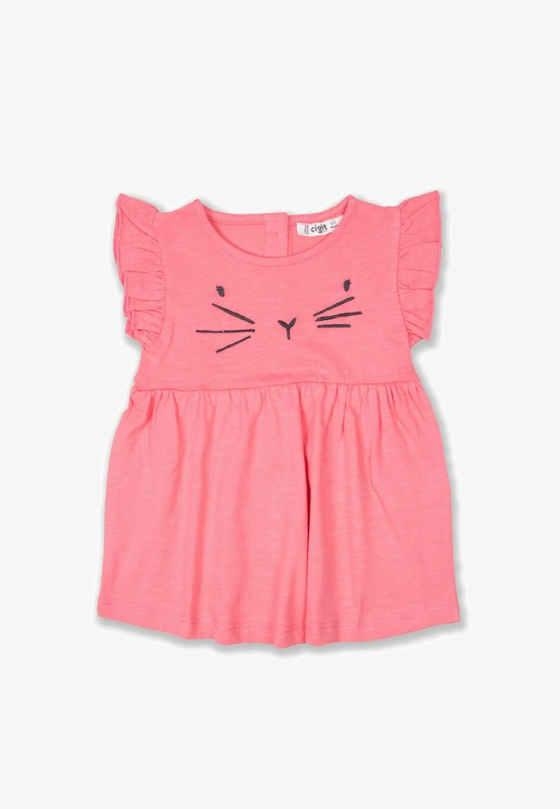 Cigit - CAT  - Jersey dress - neon pink