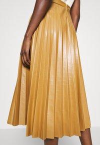 Closet - PLEATED SKIRT DRESS - Day dress - beige - 6