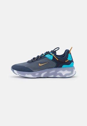 REACT LIVE - Sneakersy niskie - midnight navy/wheat/turquoise blue/ashen slate/white/black