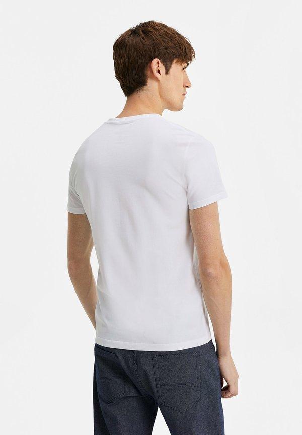 WE Fashion T-shirt basic - white/biały Odzież Męska QNGY