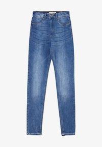 TALLY WEiJL - HIGH WAIST PUSH UP SKINNY JEANS - Jeans Skinny Fit - blu - 4