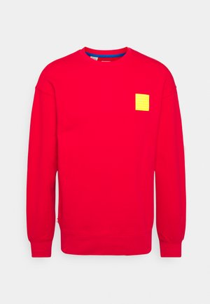 LEGO RELAXED CREW UNISEX - Sweatshirt - red