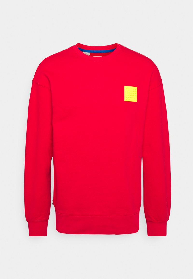 Levi's® - LEGO RELAXED CREW UNISEX - Sweatshirt - red