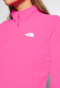 The North Face - GLACIER ZIP MONTEREY - Sweat polaire - mr pink - 5