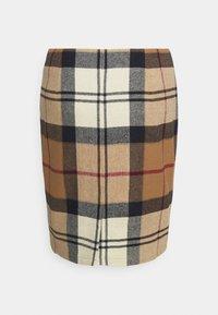 Barbour - NEBIT PENCIL SKIRT - Pouzdrová sukně - hessian tartan - 1