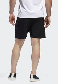 adidas Performance - AEROREADY 3-STRIPES 8-INCH SHORTS - Pantalón corto de deporte - black - 1