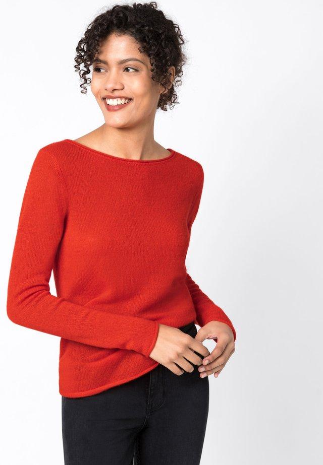 Pullover - geranie