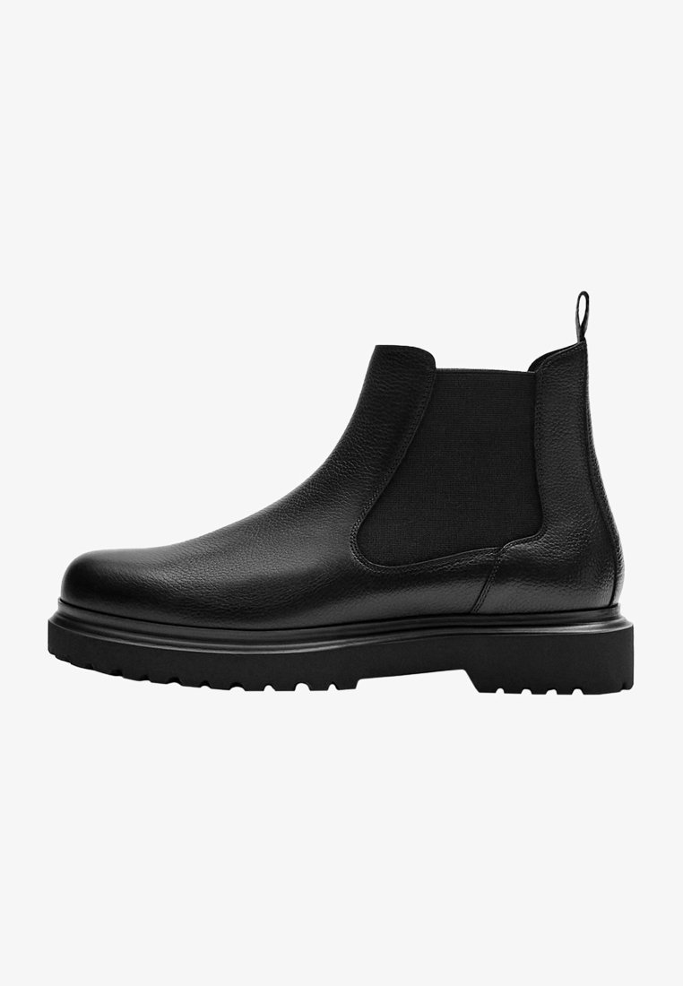Massimo Dutti - Classic ankle boots - black