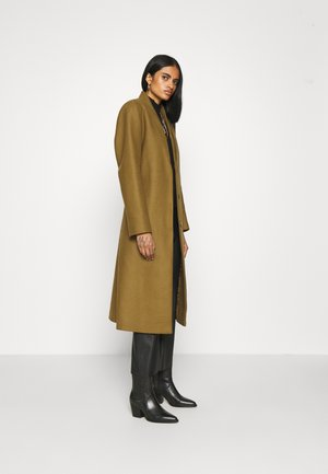 DOUBLE COLLAR COAT - Klassisk kåpe / frakk - beech