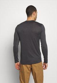 Salomon - TEE - Long sleeved top - black/heather - 2