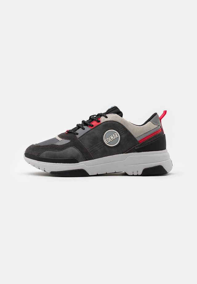 AYDEN BLADE - Sneakers basse - grey/red