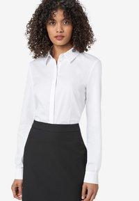 HALLHUBER - Button-down blouse - white - 0