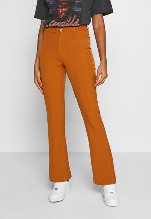 SASSY  - Trousers - golden brown